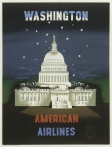 American-Airlines-Washington-EMcknight-Kauffer-1950-231x304
