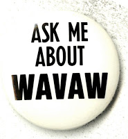 Ask me about WAVAW button