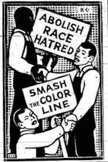 League_of_Struggle_for_Negro_Righs_Cartoon